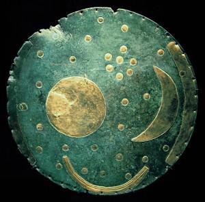 Himmelsscheibe von Nebra, Quelle: Wikipedia